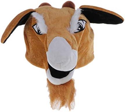 Desconocido Generic Sombrero de Animal de Peluche Patrón de Cabra ...