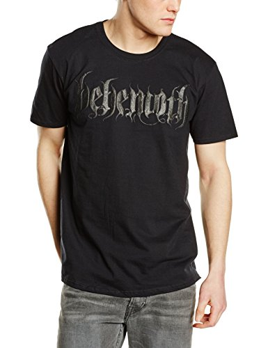 Plastichead Behemoth Logo official men's black t-shirt
