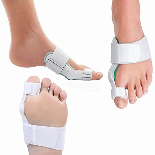 Bunion Corrector and Splint for Bunion Relief, Bunion Big Toe Separators and Protectors Pads, Hammer Toe Straightener for Support & Hallux Valgus Pain Relief 2' Stretcher Pad