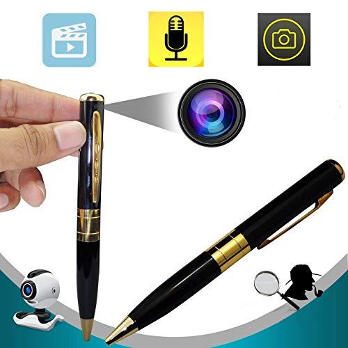 Bysameyee Meeting Video Recorder Camera Pen, Mini Portable DVR Cam Wireless PenCam