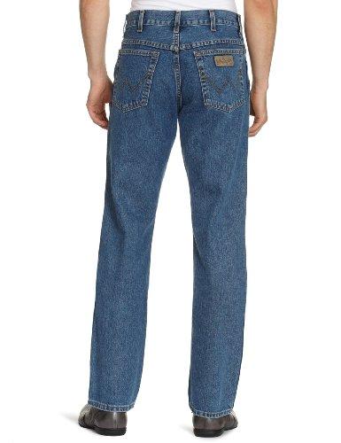 Wrangler Texas Darkstone, Herren, Jeans,  Blau, W32/L34
