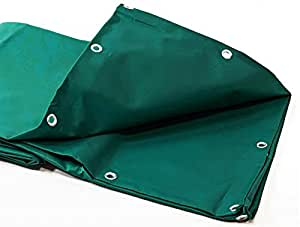 Lona madera 680 G/m² – 10 x 12 m – lona PVC verde – bâches impermeables – bache plástico – lona impermeable