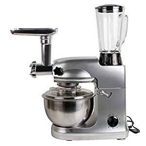 Zorvo 110V Multifunctional Stand Mixer 5L Food Mixer 1000W Home Dough Knead Machine Meat Grinder
