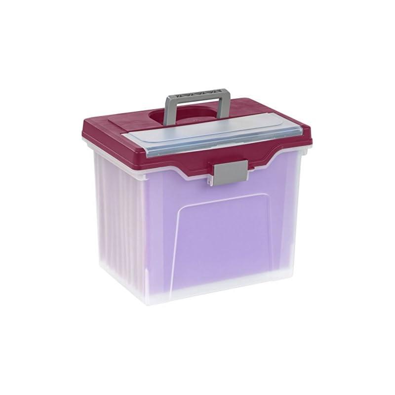 Office Depot Large Mobile File Box, Lett