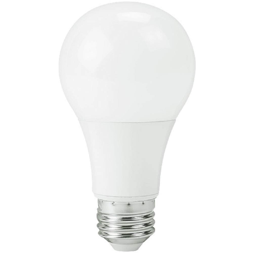 750 Lumens - 9 Watt - 60W Incandescent Equal - LED - A19-4000 Kelvin Cool White - PLTL6C123