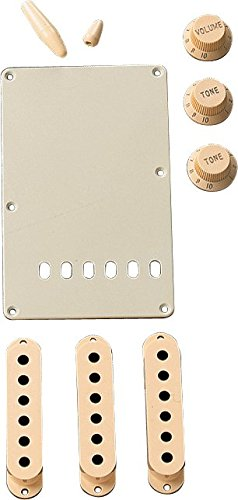 Fender Aged White Stratocaster Accessory Kit (Fender Vintage Noiseless Strat Pickup Set Review)