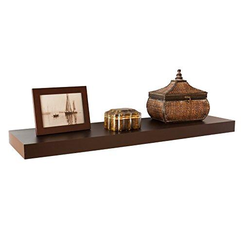 "037732073613 - Chicago Floating Shelf 36"" - Chocolate carousel main 7"