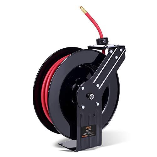 SuperHandy Air-Hose-Reel Retractable Industrial 3/8