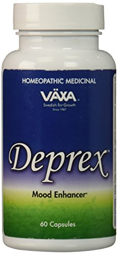 Deprex de médicaments homéopathiques VAXA, Enhancer de l'humeur, 60 capsules