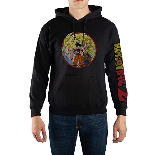 Dragon Ball Z Goku Super Saiyan Hoodie Sweatshirt-Medium