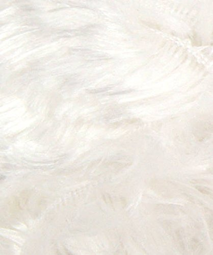 011 Blanc Pelote laine cheval blanc fourrure zoé