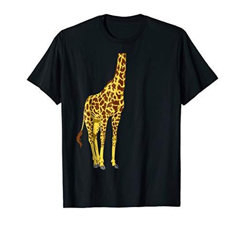Giraffe T-shirt For Kids Easy Halloween Costume Men Women ()