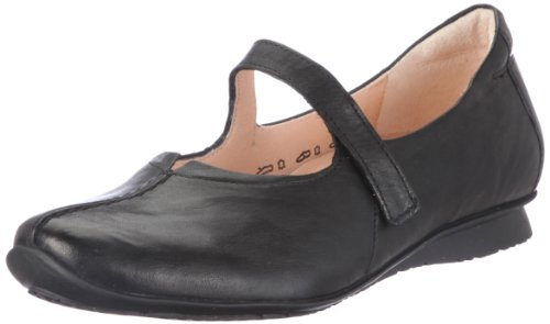 88104 mujer Bailarinas Chilli color Think de talla para 36 5 cuero 8 negro 0qZTO