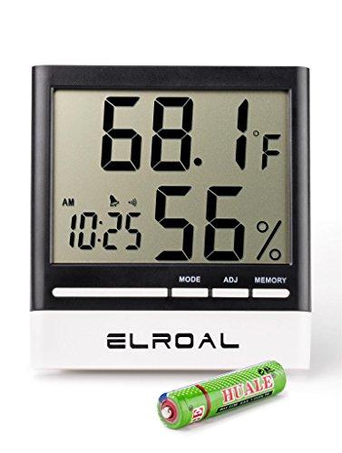 how to read a clock gauge alarm