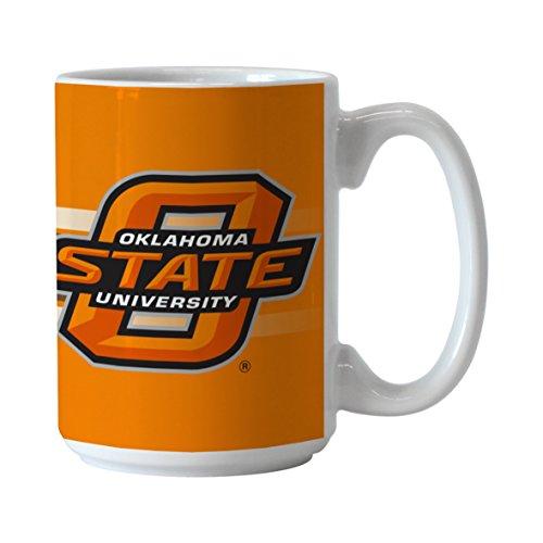 (NCAA Oklahoma State Cowboys Sublimated #1 Dad Mug, 15-ounce)
