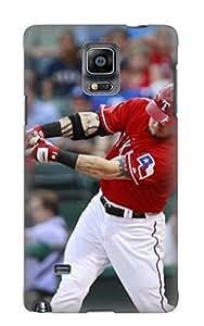 lintao New Arrival Yaialh-5028-urlyshp Premium Galaxy Note 4 Case(texas Rangers Baseball Mlb 84)