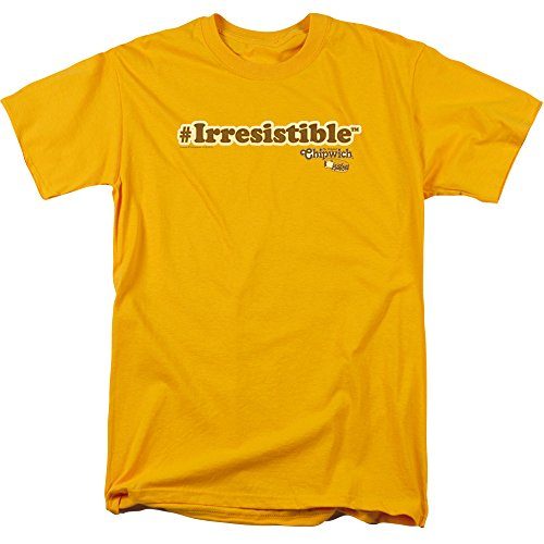 Irresistible Desserts (Chipwich Ice Cream Sandwich Chocolate Dessert Irresistible Adult T-Shirt Tee)