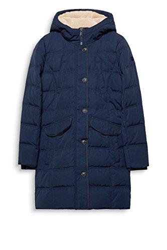 400 Manteau navy Esprit Bleu Femme xqC0WnwnF4