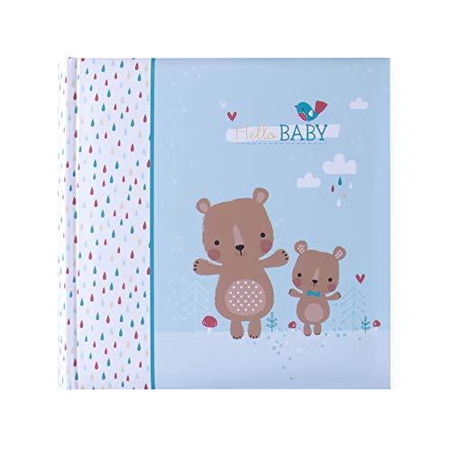 Betco Álbum para 200 Fotos de Bebé, color Azul