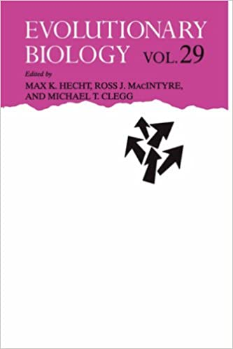 Book Evolutionary Biology: Volume 29: v. 29