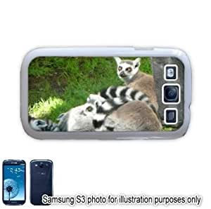 Lemurs Photo Samsung Galaxy S3 i9300 Case Cover Skin White