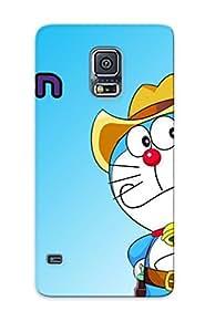Fashion Protective Description Doraemon And Nobita Cartoon 1 Doraemon Case Cover Design For Galaxy S5