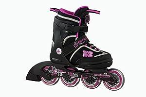 K2 Mädchen Inline Skate Roadie Junior Pack, mehrfarbig, L, 30A0724.1.1