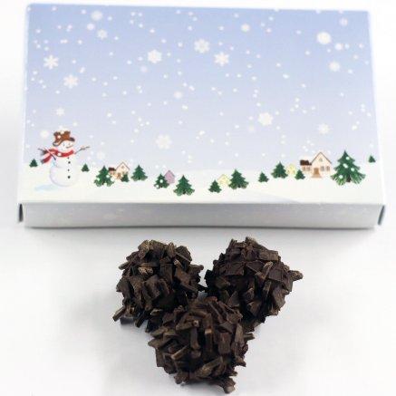 - Scott's Cakes Chocolate Bourbon Balls in a 8 oz. Winter Wonderland Box
