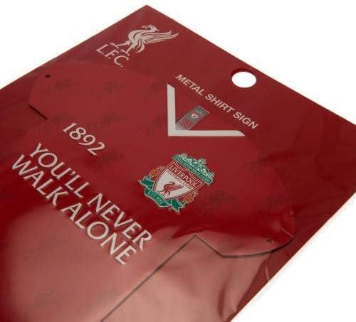 Liverpool F.C Plaque en m/étal pour Chemise CR Produit Officiel