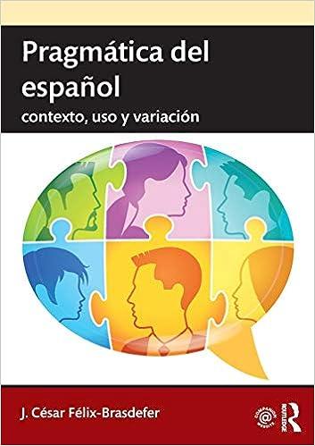 Pragmática del español 1st Edition