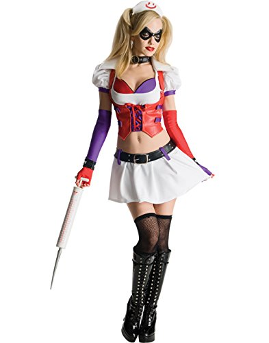Harley Quinn Arkham City Costume - Secret Wishes Batman Arkham City
