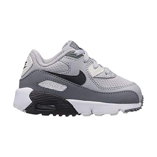 TD 024 Max Mesh Grey cool Multicolore white Chaussons Bas Wolf Mixte bébé Grey Black Air NIKE 90 wIaqgHI