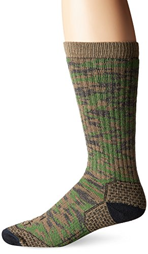 (Farm to Feet Men's Slate Mountain Midweight Mid-Calf Socks, Treetop, X-Large)