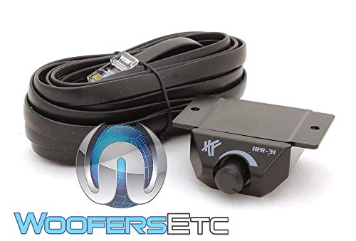 Hifonics HFR-31 Bass Gain Knob Level Remote Control and Wire for Select Amplifiers (Bass Control Knob)