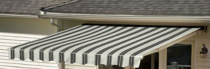 Sunsetter Awning, Manual Retractable Awning with River ...