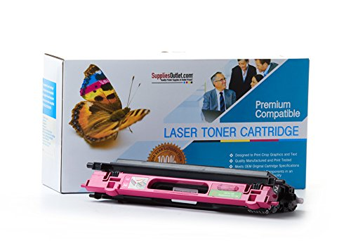SuppliesOutlet Compatible with Brother TN115M Toner Cartridge - Magenta - Compatible - For DCP-9040, DCP-9040cn, DCP-9045, DCP-9045cdn, DCP-9045cn, HL-4040, HL-4040cdn, HL-4040cn, HL-4050, HL-4050cdn, HL-4050cn, HL-4070, HL-4070cdw, MFC-9440, MFC-9440cn,