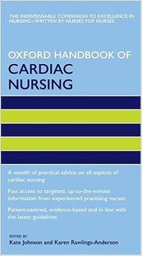 Oxford Handbook Of Cardiac Nursing por Kate Johnson epub
