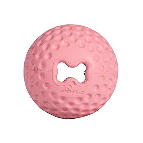 ROGZ Pupz Gumz Treat Toy Ball, Medium/2.5