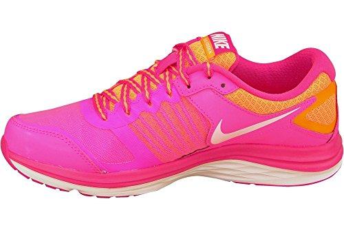 Nike , Mädchen Laufschuhe Talla Rosa / Naranja / Blanco
