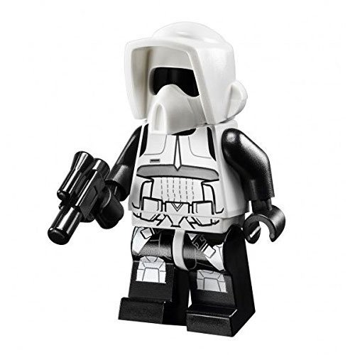 New Lego Endor Scout Trooper Minifig Figure Minifigure 75023 10236 Star Wars Toy