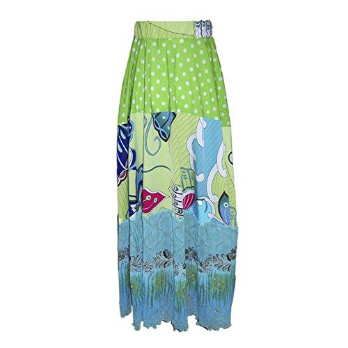 TwirlyGirl Groovalicious Maxi Skirt Girls Green Skirts Twirly Fun Unique | Looking Mint Size 6