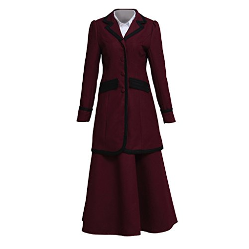 Missy Doctor Who Costume (CosplayDiy Women's Suit for Doctor Who 8th Season Missy Mistress Cosplay M)