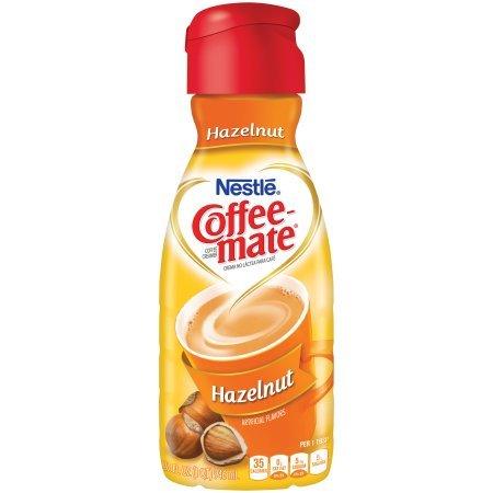 Nestle COFFEE-MATE Hazelnut Liquid Coffee Creamer 32oz (P...