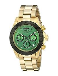 Invicta Men's 17315 Speedway Analog Display Japanese Quartz Gold Watch