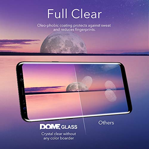 Dome Glass VIVO NEX A/S Screen Protector Tempered Glass, Full Cover Screen Shield [Liquid Dispersion Tech] Easy Install Kit by Whitestone for VIVO Nex A or S (2018) - 1 Pack by Dome Glass (Image #5)