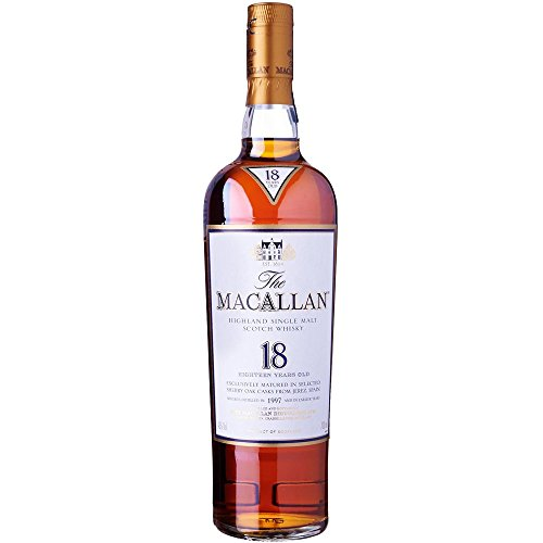 Macallan Scotch Sherry Oak, 18 Year, 750 ml by Macallan