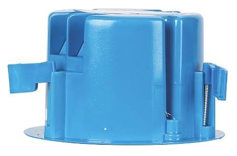 Carlon Ceiling Box 18 0 Cu In Pvc Blue Bulk Electrical
