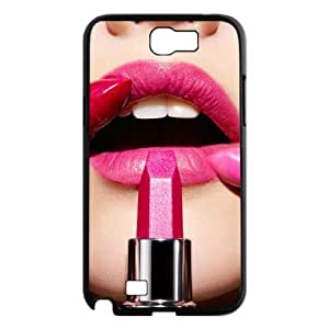 Lipstick Custom Cover Case for Samsung Galaxy Note 2 N7100,diy phone case ygtg554555 by Maris's Diary