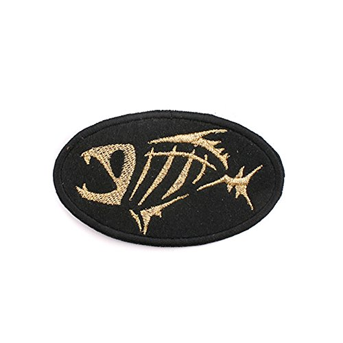 """The G Loomis Clothes Patch 3.15"""" Emblem Logo Bedge Black and Gold gloomis"""
