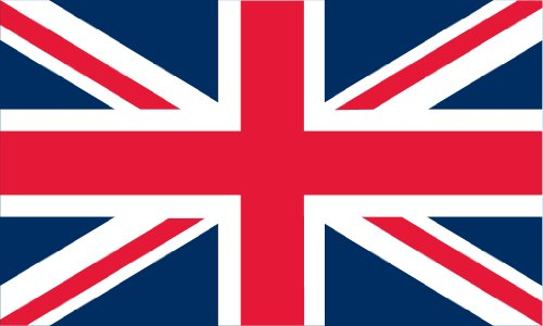 England - UK Outdoor Flag - Large 3' x 5', Weather-Resistant Polyester (Union Flag)